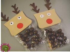 Au mois de novembre, la maîtresse de ma grande m'a demandé si j'avais des idées pour un petit bricolage de  Noël à réaliser avec les élèv...