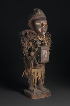 Charlie Jewett's blog: Charlie's diary: Power figures in African art