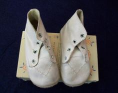 1940s Baby Shoes in original Box
