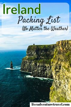 It's no secret, Ireland doesn't hold back when it comes to unpredictable weather. In fact, it is a running joke that Ireland experiences all 4 seasons in the one day. That is why I have put together an Ultimate Ireland Packing List with all the essential Packing List For Travel, Europe Travel Tips, Packing Tips, Travel Advice, Travel Guides, Travel Destinations, Travel Hacks, Travel Essentials, Europe Packing