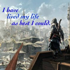 Assassin's Creed Quotes My Story Is One Of Many Thousands.*  Assassins Creed Quote Ezio .