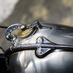 Motorcycle gas cap details