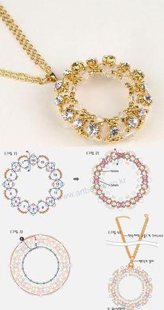 Jewelry OFF! Beaded beads tutorials and patterns beaded jewelry patterns wzory bizuterii koralikowej bizuteria z koralikow - wzory i tutoriale Beaded Jewelry Designs, Bead Jewellery, Seed Bead Jewelry, Jewelery, Handmade Jewelry, Pearl Jewelry, Jewelry Findings, Beading Jewelry, Handmade Wire