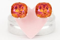 Cushion Cut Earrings jojo loves you