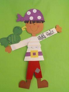Pirate Glyph by Glyph Girls