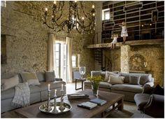 Casa rústica contemporánea en la Provenza francesa.