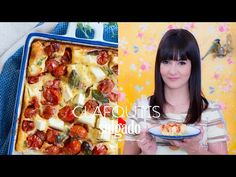 Clafoutis de Tomatinho e Queijo Feta | Vamos pra Cozinha #19