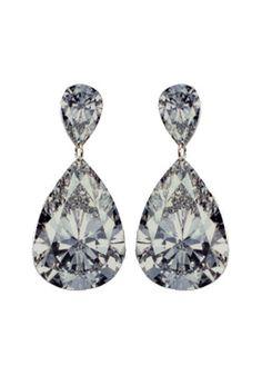 Sublimate printed diamond earrings...beautiful!