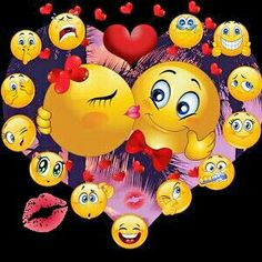We both come from domestic violence set free to become cherished loved respected Going on yrs But there is the up downs in this marriage ( high/lows ) Funny Emoji Faces, Emoticon Faces, Funny Emoticons, Love Smiley, Emoji Love, Smiley Emoji, Good Morning Smiley, Bisous Gif, World Emoji