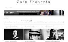 Zoon Phonanta: Traducciones de poetas de lengua inglesa