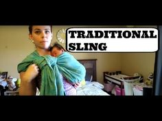 d5c4f370175 HOW TO USE A SHORT WOVEN WRAP WITH A NEWBORN (Traditional Sling Carry)