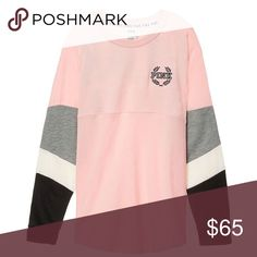 VS PINK VARSITY CREW SWEATSHIRT ⭐SIZE SMALL- OVERSIZED FIT⭐  ⭐LIKE NEW⭐  CAN LIST FOR LESS ON ♏️  ❌NO TRADES❌NO ASKING LOWEST❌  ✅USE THE OFFER BUTTON✅  ❌RUDE COMMENTS WILL BE BLOCKED❌  ✳️I TAKE THE TIME TO SHIP SAME OR NEXT DAY- PLEASE TAKE THE TIME TO ACCEPT YOUR ITEM ONCE ITS DELIVERED ✳️ PINK Victoria's Secret Sweaters Crew & Scoop Necks