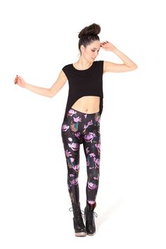 The Count Leggings - LIMITED › Black Milk Clothing
