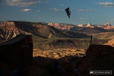 Tom VanSteenbergen first to air the 70 foot canyon gap.