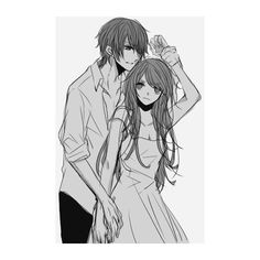 We Heart It ❤ liked on Polyvore featuring manga and anime
