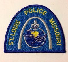 Ebay   St. Louis Metropolitan Police Patch