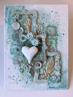 En kreativ blogg om mixed media, scrapbooking, art journaling och kortmakeri bland annat.