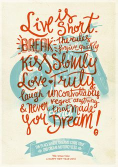 // Life Is Short...