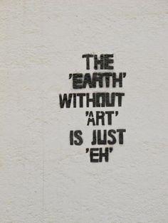 earth and art...
