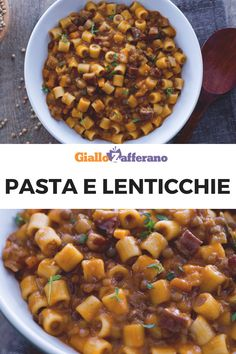 Well-groomed Modern Recipes With Ground Beef Families Italian Lentil Soup Recipe, Lentil Soup Recipes, Vegetarian Recipes, Lentil Pasta, Pasta Soup, Pasta Dishes, Best Dinner Recipes, Baby Food Recipes, Pasta Recipes