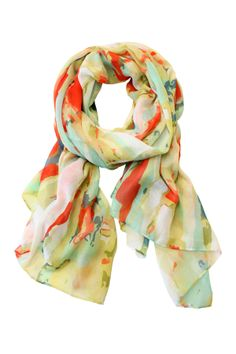 Painted  Scarf ~