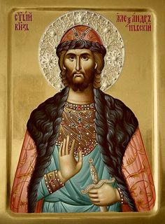 Saint Alexander Nevsky /  Image result for
