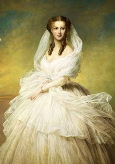 Princess Alexandra of Denmark, later Queen of England, by Richard Lauchert. 1862-1863.