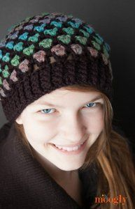 Color Changing Slouch Hat | AllFreeCrochet.com