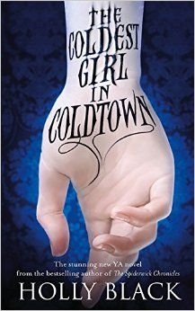 Holly Black - Coldest Girl in Cold Town Signed Paperback