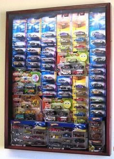 Hot Wheels display cabinet