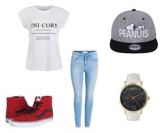 """Untitled #65"" by destinyaldridge on Polyvore featuring Ally Fashion, Vans and Olivia Pratt"