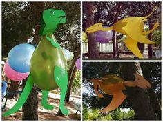Globos-dinosaurios                                                                                                                                                      Más