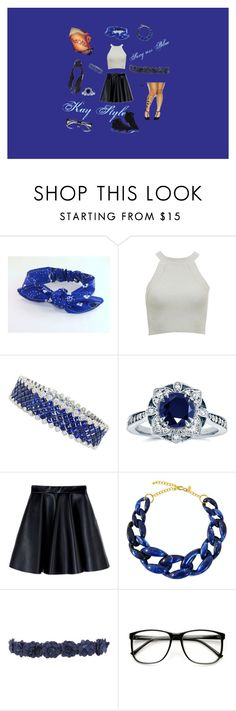 """""""My style"""" by x-keekee-x on Polyvore featuring Kobelli, MSGM, Kenneth Jay Lane, Hoss Intropia, women's clothing, women, female, woman, misses and juniors"""