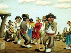 Fiesta del Día de la Tradición#VamosParaAdelante Montevideo, Places To Travel, Country, Mayo, Painting, Decor, Folklore, Block Prints, Frames