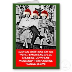 Funny photo Christmas Cards