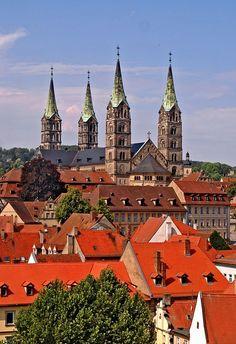 Bamberg Bavaria Germany | The cathedral of Bamberg in Bavaria Germany ( via gornabanja )