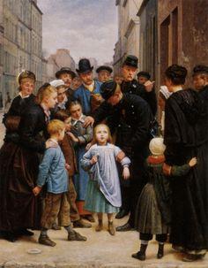 Charles-Gustave Housez, Le Petite Fille perdue dans Paris