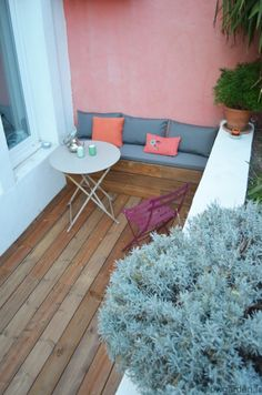 Inspirations, Idées & Suggestions, JesuisauJardin.fr, Atelier de paysage Paris, Stéphane Vimond Créateur de jardins #garden #jardin #balcon #terrasse #roofgarden #deck #outdoor