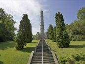 Battlefield Museum is the site of the Battle of Stoney Creek from the war of War Of 1812, Hamilton, Golf Courses, Battle, Sidewalk, Museum, Travel, Walkways, Viajes