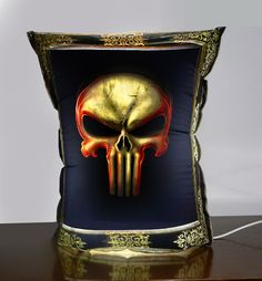 bubble light: Skull Original Design Lamp For Your Halloween