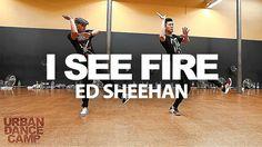 I See Fire - Ed Sheeran / Anthony Lee ft Vinh Nguyen Choreography Kinjaz...