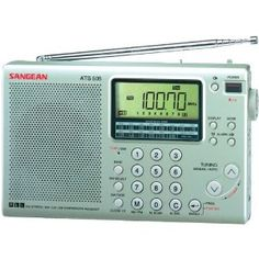 SANGEAN ATS505P 16-BAND DIGITAL AM/FM STEREO SHORT-WAVE RECEIVER (ATS505P) - by Sangean. $158.11. CONVENTIONAL ROTARY TUNING; DIRECT KEYPAD ENTRY; CONTINUOUS ALL-BAND SHORT-WAVE COVERAGE; FINELY ENGINEERED TUNING FOR SIDEBAND; AUTO/MANUAL SCAN; 45 MEMORY PRESETS; AUTOMATIC MEMORY SEARCH & STORE; EXTERNAL ANTENNA & STEREO HEADPHONE JACKS; TONE CONTROL; DUAL TIME CLOCK WITH ALARM & ADJUSTABLE SLEEP TIMER; BACKLIT LCD DISPLAY; PORTABLE SHORT-WAVE ANTENNA; INCLUDES CARRYING CASE, EA...