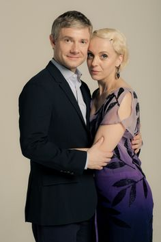 SHERLOCK (BBC) ~ Season 3 promo photo shoot. John Watson (Martin Freeman) and…