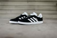 Adidas Gazelle Black, Black White Gold, Adidas Superstar, Adidas Sneakers, Shoes, Products, Zapatos, Shoes Outlet, Shoe