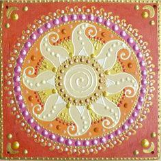 Nap-spirál mandala / Sun-spiral mandala