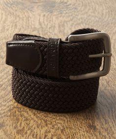 Gagliardi - Brown Plaited Rope Belt - €29.00