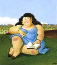 Fernando Botero La lectora