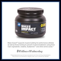 For higher intensity workouts and strength conditioning, try Mass Impact®!