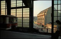 Berlin | DDR. S-Bahnhof Friedrichstrasse, 1988. Johan van Elk