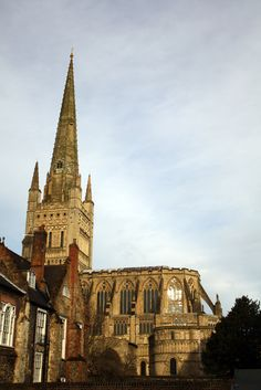 Norwich Cathedral. Jewel in the Fine City's crown. Needs little introduction, really.